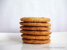 Easily Good Eats: Butternut Snap Cookies Recipe