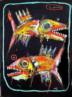 """the fish"" by Matt Sesow"