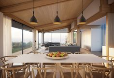 'silver house' by hyde + hyde architects, gower peninsula, south wales