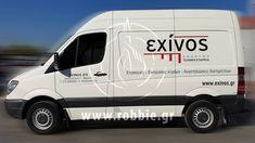 Σήμανση οχημάτων – EXINOS (www.exinos.gr) Η εταιρεία EXINOS επέλεξε την εταιρεία μας για τη κάλυψη οχημάτων του στόλου εταιρειών της. Σήμερα η EXίNOS constructions συνεχίζει δυναμικά, με συνέπεια, τεχνογνωσία και αποτελεσματικότητα, τους κύριους άξονες δραστηριοτήτων της: αναστη�