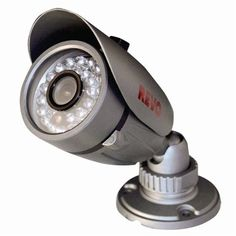 $49 ONLY! Bullet #SurveillanceCamera [600 TVL, IR LED, 80 ft Night Vision, Microphone, Quick Connect] Indoor/Outdoor