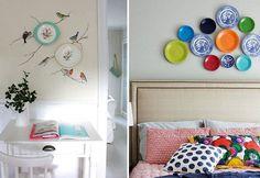 Pratinhos de Porcelana: decoração cheia de histórias.