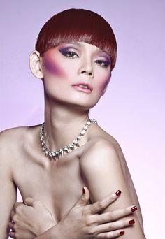 Make up : D.Y (Derek Yuan) - Hair Style : Daniel Wong - Model : Hoang Oanh  - Stylist : Le Thanh Hoa   - Photographer : Quang Khue