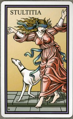 The Fool - Tarot of the Sevenfold Mystery 0 - The Fool (Tarot Card) The Fool Tarot Card. †he fool Tarot Tarot The Fool, Fortune Telling Cards, Tarot Major Arcana, Pre Raphaelite, Oracle Cards, Whippet, Tarot Decks, Deck Of Cards, Tarot Cards