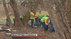 Volunteers with Brightside and World Mission Society Church of God say for the last several years litter has been collecting along South Hurstbourne Parkway.
