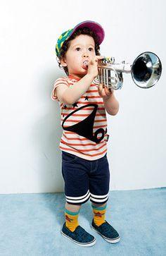 #KidFashion Trumpet