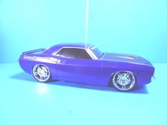 EZTEC '70 HEMI CUDA MUSCLE CAR #FULL FUNCTION R/C,1:15 #SCALE BRAND NEW! #EZTEC