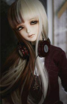 Imagem de doll, bjd, and ball jointed doll Pretty Dolls, Cute Dolls, Beautiful Dolls, Ooak Dolls, Blythe Dolls, Girl Dolls, Enchanted Doll, Kawaii Doll, Dream Doll