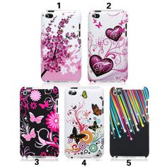 itouch 4 cases | 100% brand new and good quality Snap-on design, perfect fit and easy ...