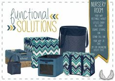 Nesting in your nursery? Thirty-One has all the totes, bins, baskets, and bags to help you organize and prepare for your new bundle! Custom colors and personalization embroidery make it specially yours. Functional Interior Décor and Organization solutions from Thirty-One! Shop now at www.mythirtyone.com/proverbs31gives