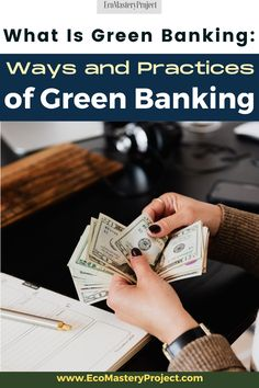 Green banking is a sustainable and responsible way to manage your finances. It might seem like an abstract concept, but green banking is something that you should care about! The truth of the matter is that by not thinking green, we are hurting our environment. So what does green banking entail? We will explore this in detail below. Make Money From Home, Way To Make Money, Make Money Online, Manifesting Money, Money Saving Tips, Money Tips, Extra Money, Extra Cash, Money Management