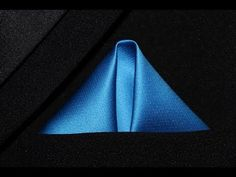 How To Fold  Pocket Square  Winged Puff