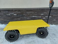 Custom high visiablity paint Electric Utility, Electric Motor, Truck Boxes, Mobility Scooters, Chain Drive, Garage Ideas, Welding, Metal Working, Inventions