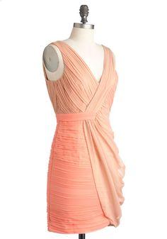 Something Neutral Dress, #ModCloth