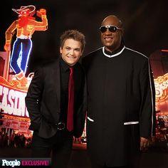 ACMA Awards 2013 Photos - Hunter  Hayes and Stevie Wonder