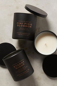 Fireside & Starlight Candle - anthropologie.com