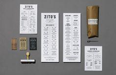 Archive for Restaurant Menu Design via gourmandisee