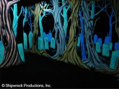 black light haunted house - Google Search