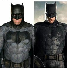 Batman suit gets upgrade from Batman v. Superman to Justice League.