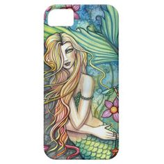 Pretty and colorful fantasy art -  Mermaid iPhone 5/5S Case / Cover