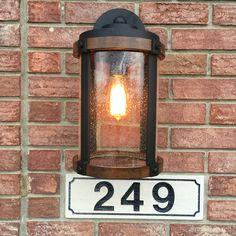 My lights. Kichler barrington Garage Door Lights, Garage Lighting, Home Lighting, Wall Lighting, Outdoor Lighting, Lighting Ideas, Garage Light Fixtures, Exterior Light Fixtures, Exterior Lighting