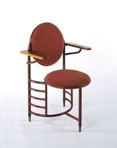 Armchair, Frank Lloyd Wright, 1937-1939, The Victoria & Albert Museum #artdeco