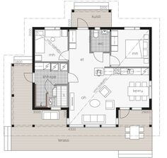 Dream House Plans, Japanese House, Sweet Home, Floor Plans, Cottage, How To Plan, Architecture, Buildings, Houses