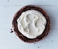 Find the recipe for Fallen Chocolate Cake and other milk/cream recipes at Epicurious.com