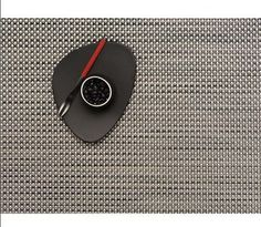 "Chilewich Basketweave Placemat, Aluminum, 14"" X 19"" by Chilewich, http://www.amazon.com/dp/B000Q4NRQ4/ref=cm_sw_r_pi_dp_Y1jvrb0N0JGZY"