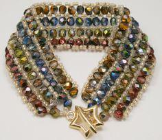 Deb Roberti's Ribbon Candy Bracelet Pattern