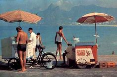 Barraquinhas Beba Fanta - Praia do Arpoador - 1968