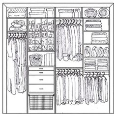 Closet Space | Illustration