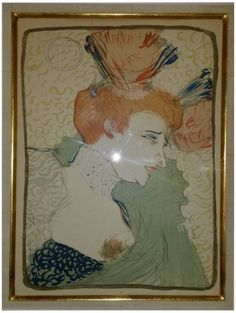 "Henri de Toulouse-Lautrec (French, 1864-1901), ""Mademoiselle Marcelle Lender, en buste"" (Delteil 102; Adriani 115; Wittrock 99)"