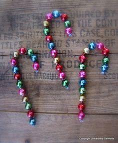 Mercury Glass Candy Cane Tree Ornaments Christmas Decorations   eBay