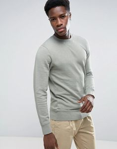 Esprit Basic Crew Neck Sweatshirt