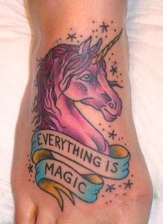 unicorns don't belong on your feet, they belong in your heart.