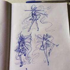#characterdesing #originalcharacter #drawing #ballpen #sketch #sketchbook