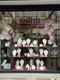 Visual Display, Display Design, Spring Window Display, Spring 2015, Vancouver, Jewellery, Table Decorations, Crafts, Home Decor