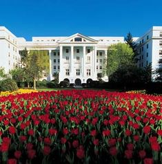 The Greenbrier, West Virginia.  Nothing better.