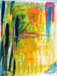 "Original #painting ""summer"" by Saatchi artist #art #marinadewit"