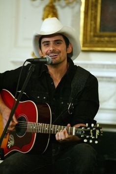 Brad Paisley is such a talented singer, songwriter, guitarist with a love of family and his country.  A delightful human being.