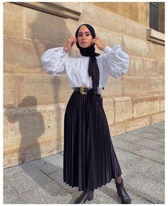 Hijab Fashion Summer, Modest Fashion Hijab, Modern Hijab Fashion, Muslim Women Fashion, Street Hijab Fashion, Modesty Fashion, Hijab Fashion Inspiration, Mode Inspiration, Fashion Outfits