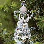 Image result for How to Make Beaded Angel Christmas Ornaments