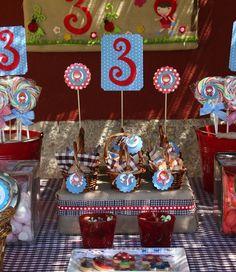 Fiesta infantil Alicia Caperucita