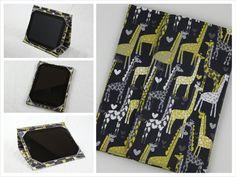 Giraffe Love iPad Cover by BMBDesign, $55.00