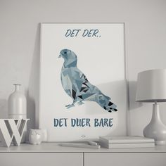 """Danish Qoute"" Poster with - Det der. Danish Design, Lovers Art, Decoration, Denmark, Qoutes, Inspirational Quotes, Motivational Quotes, Poster Prints, Wall Decor"