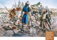 Saladin vs. Guy of Lusignan, Battle of Hattin, 1187