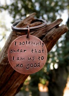 "Harrys gift from the seaside twins... ""i solemnly swear that I am up to no good"""