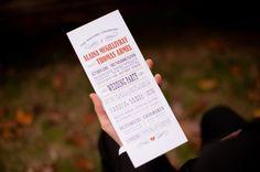New Hampshire Rustic Ski Lodge Wedding via Rustic Wedding Chic #programs