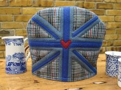 Tweed Union Jack - Love a Cup of Tea Cosy